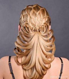 Weer zo'n mooi kapsel! #prom hairstyles