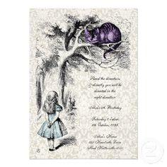 vintage alice in wonderland party ideas - Google Search