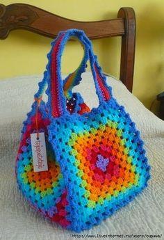 Favolosa borsa colorata molto giovanile
