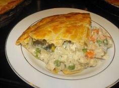 The BEST Chicken Pot Pie Ever! Recipe