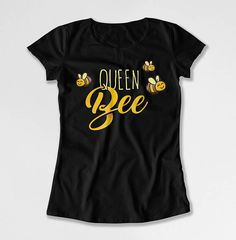 Queen Bee Shirt Queen Bee Tee Shirt Mom Gift Ideas For Women Queen Tee Shirt Mothers Day Present Mommy Clothes Bee Tee Shirt Ladies Tee Mothers Day T Shirts, Mothers Day Presents, Curvy Women Fashion, Fashion Tips For Women, Fashion Ideas, Fashion Trends, Womens Fashion, Fashion Design, Queen Bee Quotes