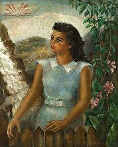 Título : Retrato de Moça Paulista Artista : Annita Catarina Malfatti - Anita Malfatti - Anita Malfati Técnica : Óleo sobre Tela Dim. : 100 x 80 cm