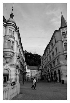 #Ljubljana Pogled na grad iz #Tromostovja. Fot. Samanta