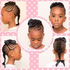 Incredible Kids Hairstyles - All For Hairstyles Lil Girl Hairstyles, Girls Natural Hairstyles, Natural Hairstyles For Kids, Kids Braided Hairstyles, Toddler Hairstyles, Hairdos, Summer Hairstyles, Little Girl Braids, Braids For Kids