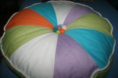 okrągła poduszka