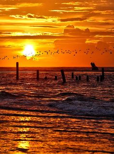 Ocracoke Outer Banks Sunrise - North Carolina