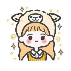Cute Little Drawings, Cute Cartoon Drawings, Cute Kawaii Drawings, Cartoon Art Styles, Kawaii Art, Cute Doodle Art, Cute Doodles, Cute Art, Cute Anime Chibi