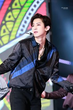 dailyexo:   Chanyeol - 161008 DMC Korean Music...   Kim Jongin