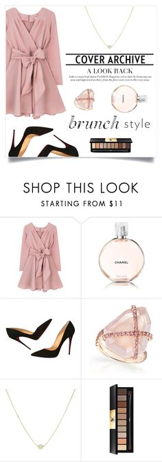 """Mothers Day Brunch"" by mtxx-fashion ❤ liked on Polyvore featuring Chanel, Christian Louboutin and Yves Saint Laurent"