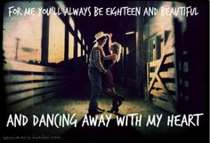 Dancing away with my heart