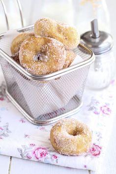 Sweet Buns, Sweet Bread, Fritters, Flan, Doughnuts, Bagel, Tea Time, Sweets, Cookies
