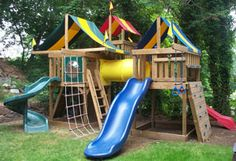plans to build your own swing set.