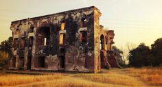 Historic photo Aam Khas Bagh in Punjab