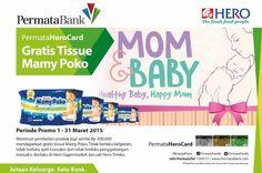 Ada promo spesial menantimu di HERO Supermarket khusus untuk Fresh People pemegang Kartu Permata Hero Card  Dapatkan Gratis Tissue Mamy Poko dengan minimum pembelian produk bayi senilai Rp 300.000. Ayo berbelanja *syarat dan ketentuan berlaku