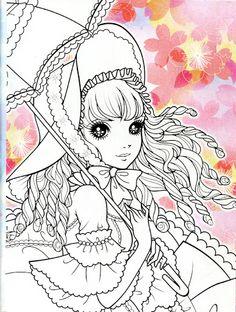 Korean Coloring Book - pink2 - Mama Mia - Álbuns da web do Picasa