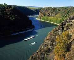The mighty Rhine River....