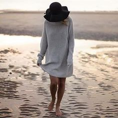 Beach vibes in our East sweater.