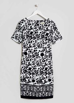 Printed Shift Dress - Matalan