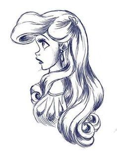 Resultado de imagen para drawings of disney princess