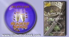 CHILL WITH A BOOK AWARDS: Honoured with a READERS' AWARD - Alvar The Kingmak...