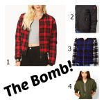 Fall 2013 Trends Bomber Jacket plaid