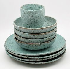 Instagram susansimonini New stoneware dinner plates and bowls available at @weclaphands in Brisbane