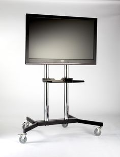 "Iconic TREX01 TV Trolley for 37"" to 63"" TVs is an elegant and modern piece, designed to suit up to 37"" to 63"" LCD.  #Furniture #PriceCrashFurniture #TVFurniture #TV #Television #Room #LivingRoom #TVUnit #Iconic #Trolley http://pricecrashfurniture.co.uk/iconic-trex01-tv-trolley.html"