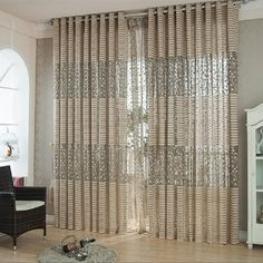 curtains for Window cortinas para sala de luxo translucids Curtains for Living Room curtains for Bedroom Kitchen Price history. Category: Home & Garden. Subcategory: Home Textile. Unique Curtains, Tulle Curtains, Home Curtains, Curtains For Sale, Cheap Curtains, Curtains Living, Modern Curtains, Curtains Direct, Brown Curtains