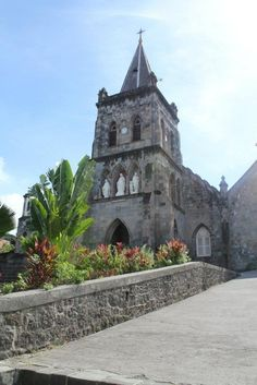 Would love to go back to Dominica and visit again.  Roseau's Catholic church, Dominica