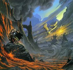 Poster affiche lord of the rings le seigneur des anneaux orcs tolkien pinterest the two - Lord of the rings book ends ...