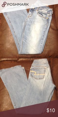 AE Artist stretch jeans. Sz 4 American Eagle jeans Jeans Boot Cut