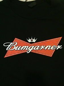 624ce149 Details about BUMGARNER Busweiser SF GIANTS t shirt San Francisco vintage  style XS M L XL