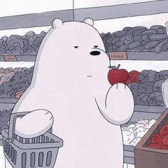 We Bare Bears Wallpapers, Panda Wallpapers, Cute Cartoon Wallpapers, Animes Wallpapers, Cute Panda Wallpaper, Bear Wallpaper, Disney Wallpaper, Ice Bear We Bare Bears, Cartoon Profile Pictures