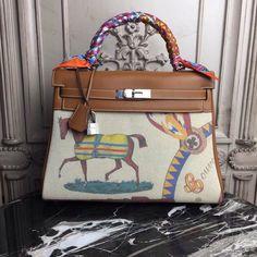 Hermes Gold Kelly 32cm Togo Palladium Hardware by Bella Vita Moda Personalization #hermesUK #hermes #hermesbag #hermesaddict #hermesbuyer #hermeskelly #hermeskellycroc #fashion #Fashionista #handbag #handbags