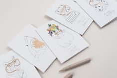 Katie Housley Cards Parlour, Paper Goods, Delicate, Cards, Color, Instagram, Design, Drawing Room, Colour