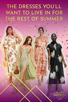 There's nothing better than throwing on the perfect summer dress. The right dress is comfortable and flattering all at the same time, and is the easiest way to feel put together in a flash. So we rounded up 13 of our absolute favourites - from roomy house dresses to figure flattering midis that will look amazing now and in seasons to come!