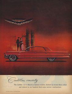 Cadillac Sedan de Ville Car Illustration, Illustrations, Car Paint Colors, Cadillac Ct6, American Auto, Car Advertising, Us Cars, Old Ads, Car Painting