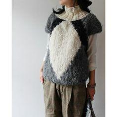 [Gudrun & Gudrun] Sweater Short Sleeves w high-neck 商品詳細 TAKANNA/たかんな - ONLINE SHOP