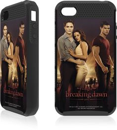 BREAKING DAWN -LOVE TRIANGLE APPLE IPHONE 4 / 4S CARGO CASE