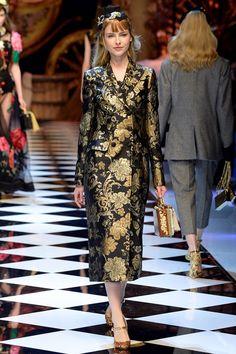 Неделя моды в Милане: Dolce & Gabbana f/w 2016/17