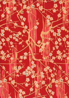 Japanese Yuzen Chiyogami Washi Paper (Panorama Design | http://green-collections.blogspot.com