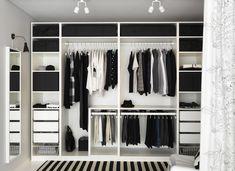 Bedroom Wardrobe Design Ideas Ikea Pax New Ideas Pax Wardrobe Planner, Ikea Pax Wardrobe, Wardrobe Closet, Wardrobe Ideas, Closet Ideas, Pax Closet, Ikea Closet, Bedroom Closet Doors, Bedroom Drawers