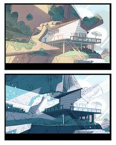 Steven Universe - art by Steven Sugar, Emily Walus, Sam Bosma