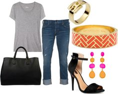 Afternoon, created by lanaconsoli on Polyvore