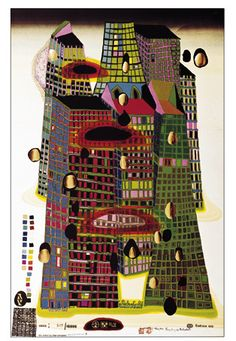 Good Morning City - Bleeding Town (Hundertwasser Graphic)