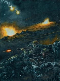 héroes Military Weapons, Military Art, Military History, Military Drawings, Falklands War, Military Special Forces, Vietnam War Photos, Special Ops, Black Girl Art