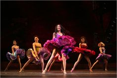 NYC Ballet performance of West Side Story.
