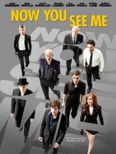 Four talented magicians mesmerize an international audience with a series of bold and original heists, all the while pursuing a hidden agenda that has the FBI and Interpol scrambling to anticipate their next move in Now You See Me, a visually spectacular blend of astonishing illusions and exhilarating action from director Louis Leterrier (Clash of the Titans).