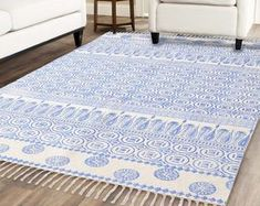 Handmade Rug / Carpet / Vintage Kantha Quilts by IndianWomensCrafts West Elm Rug, Dhurrie Rugs, Kilim Rugs, Kantha Quilt, Quilts, Indian Rugs, Rustic Rugs, Home Living, Living Room