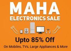 Shopclues Maha Electronics Sale : 85% off on T.V, Mobiles,